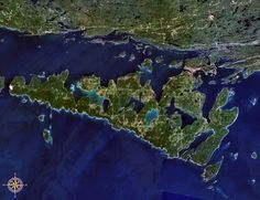 Manitoulin Island, Canada - largest freshwater island in the world with the most inland lakes...with islands in those lakes!