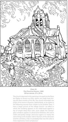 Dover Masterworks: Color Your Own Van Gogh Paintings Dover Publications