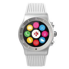 MyKronoz ZeSport Multisport Gps Smartwatch - White/Silver