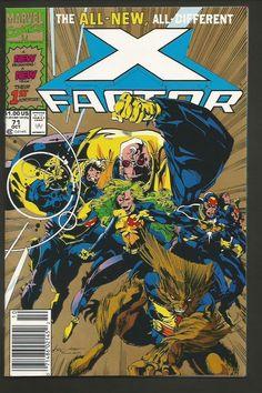 X-FACTOR #71 GOLD Version NM Marvel Comics Original X-men Characters