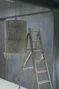 linen lamp