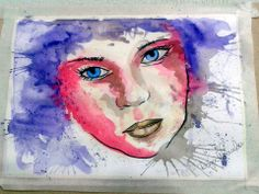 Watercolor designer