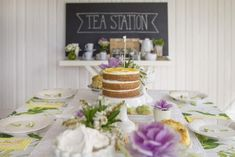 Vanilla Bean and Lemon Curd Layer Cake | Made From Scratch