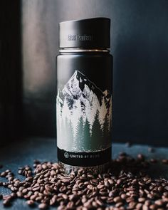 So you can always enjoy a mountain view with your coffee (bonus: the cap is completely leakproof).