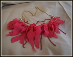 pink nacklace