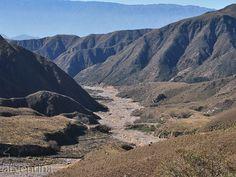 Bajando Río Amarillo u Ocre