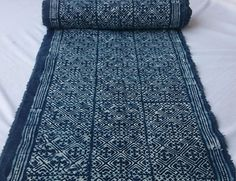 Handwoven Hmong Cotton Fabric by HandwovenHeaven on Etsy  #vintage #hmong #cotton #batik #hmongfabric #fabric #vintagefabric  #design #batikfabric #indigodye #indigo #traditional #ethical #etsy #etsyfinds #tribal #hilltribe