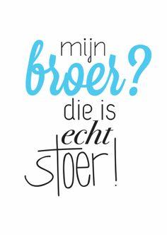 Veel Liefs - Stoer Broer - Vriendschap kaarten - Kaartje2go