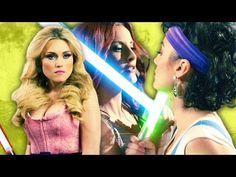 Revenge of the Threesome: Star Wars Lightsaber Duel (Saber III) - YouTube