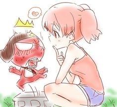 Giroro and Natsumi