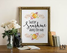 Instant 'Scatter Sunshine along the way' by mylovenotedesigns