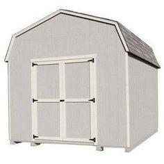 Little Cottage Co 12X18 6 Value Gambrel Barn Wood Storage Shed Kit