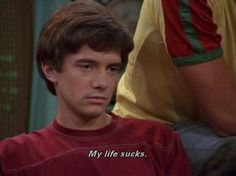 Eric Foreman From That Show Is My Spirit Celebrity - 15 Pics, - Elevated Style Motivacional Quotes, Film Quotes, Mood Quotes, Quotes Images, Qoutes, Eric Foreman, That 70s Show Quotes, Thats 70 Show, Eric That 70s Show