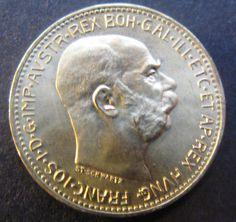 Austria 20 Corona 1915,GOLD COIN,KM 2818, 6,771 G GOLD. Restrike.Uncirculated.
