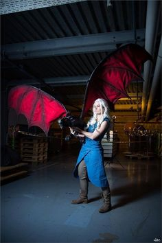 Chech Daenerys Targaryen Cosplay Photo