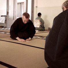 "Chanoyu in Italy - Kei(敬, ""respect"""
