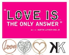 """Martin Luther King: """"Love is the only answer"""" -xx-"""