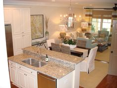 Small spaces beautiful condo kitchen kitchens for Beach condo kitchen ideas