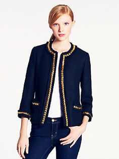 Kate Spade Tabitha Jacket. Timeless chic!
