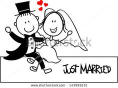 cartoon wedding vector - Pesquisa Google