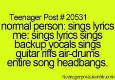 Me. Bohemian Rhapsody. Every. time. Makes me think of Wayne ' s World.