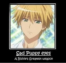 Kaichou wa Maid-Sama! Usui  - Don't know this show, but the sentiment is still very true!