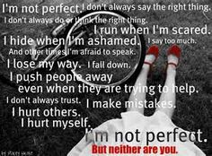 im not perfect quotes - Bing Images