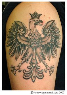 Polish Eagle Tatoo -- want one on my back or shoulder Dad Tattoos, Eagle Tattoos, Feather Tattoos, Future Tattoos, Love Tattoos, I Tattoo, Tatoos, Polish Eagle Tattoo, Polish Tattoos