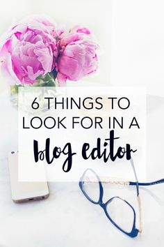 Looking for a blog editor or someone to optimize your SEO for you? Like anyone who works with you remotely, they can be tough to choose, and you need to do due diligence when looking for someone you trust. If you're on the hunt for an awesome blog editor, make sure you look for the six things below.   |  Sarah Evelyn Edits