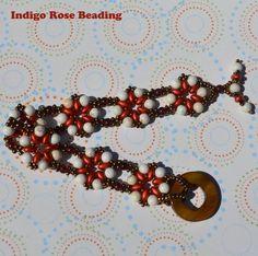 Resultado de imagen para crystal flower bracelet