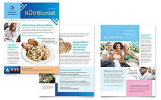 dietitian newsletter template