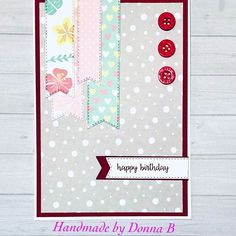 New card today Card Maker, Cardmaking, Happy Birthday, Passion, Paper, Handmade, Crafts, Instagram, Happy Brithday