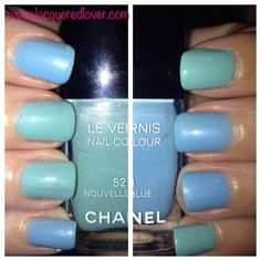 "Chanel Blue ""Carly Manicure"""