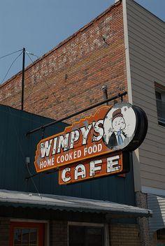 Wimpy's Cafe... Park Rapids, MN