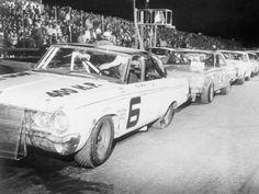Vintage Stock Car Race Line UP