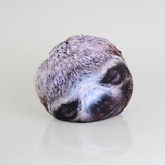 Happy Sloth Pillow