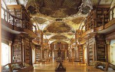 Guide par ville: En visitant Saint-Gall, un Canton en Suisse très charmant, destination fantastique pour vos vacances, bibliothèque Abbey, c...