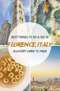 Here are 11 fun, history filled things to do in Florence a city located in the Tuscan coutryside of Italy. All of this can be done in days. This should be number one on Places to travel! Italy Travel Tips, Europe Travel Guide, Travel Guides, Travel Destinations, Cool Places To Visit, Places To Go, Adventures Abroad, Thing 1, Countries To Visit