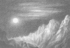 Light and dark drawing