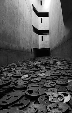 Jewish Museum in Berlin,architect-Daniel Liebeskind, photo by Marzena Wieczorek Exhibition Space, Museum Exhibition, History Of Photography, White Photography, Jewish Museum Berlin, Autumn Leaves, Fallen Leaves, Berlin Art, Art Walk