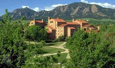 University of Colorado - Boulder. Certainly one of the most beautiful college campuses I've visited.