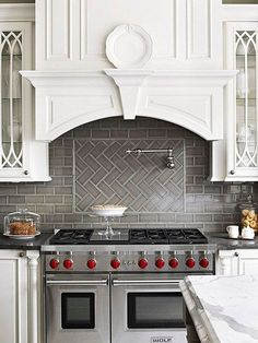 Beautiful Kitchen Backsplash Ideas... #Home #HomeDesign #Kitchen