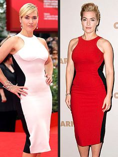 Kate Winslet in the Octavia dress by Stella McCartney. This dress makes everyone look curvy in all the right places.