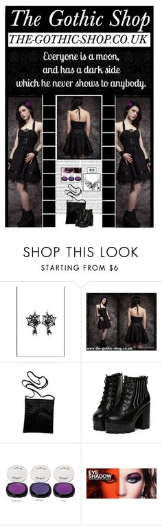 """The Gothic Shop (1)"" by irresistible-livingdeadgirl ❤ liked on Polyvore featuring Oris, emo, goth, gothic, beautyset, TheGothicShop, art, corset, alternative and darkness"