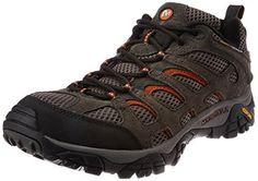 Merrell Men's Moab Ventilator Hiking Shoe Best Hiking Shoes, Hiking Sandals, Hiking Boots, Boots Store, Men Hiking, Merrell Shoes, Boy Shoes, Shoe Shop, Shoes Online