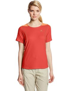 Salomon Women's Apogee Short Sleeve Tee -- Unbelievable outdoor item right here! : Camping clothes
