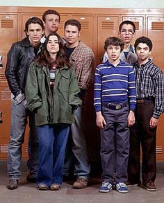 Freaks and Geeks is now on Netflix Instant!  The clothes. The music. The crushes. The angst. The thrill of small rebellion. The Parisian Night Suit. We simply can't get enough of this time-machine trip back to our high school hallways.