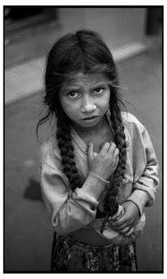 wise lil' gypsy girl