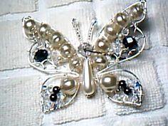 Mariposa en alambrismo