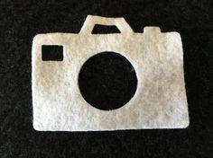 Felt White Camera with Circle Lens-DIY Kits for Independent Consultants…